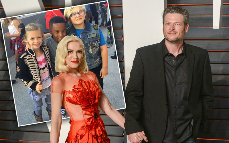gwen stefani blake shelton kids choice awards gavin rossdale