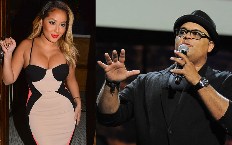 Adrienne Bailon To Address Israel Houghton Dating Rumors On 'The ...