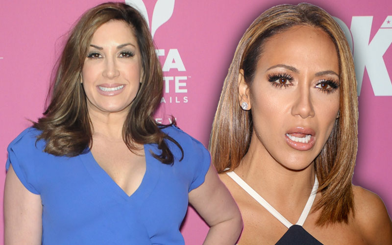 jacquelina laurita melissa gorga feud rhonj fight party