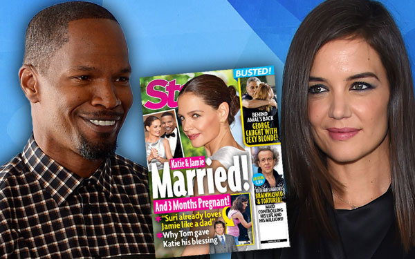 Jamie Foxx Katie Holmes Married Wedding Engaged Tom Cruise Blessing 1