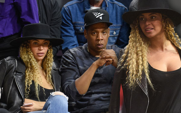 Jay Z Beyonce Divorce Clippers Game Kelly Rowland Party Details 5