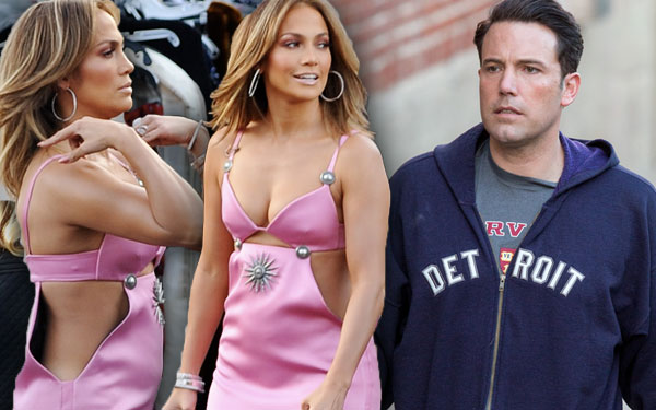 Jennifer Lopez Diss Ben Affleck Tattoo Cutout Dress Pics 6