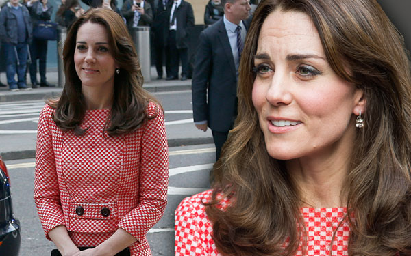 Kate Middleton Wrinkles Forehead Stress Skinny Pics 7