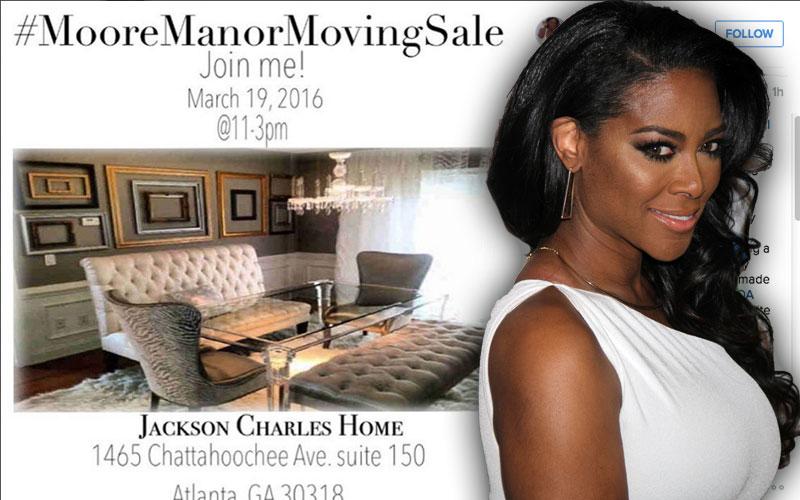 kenya moore rhoa moore manor moving sale instagram