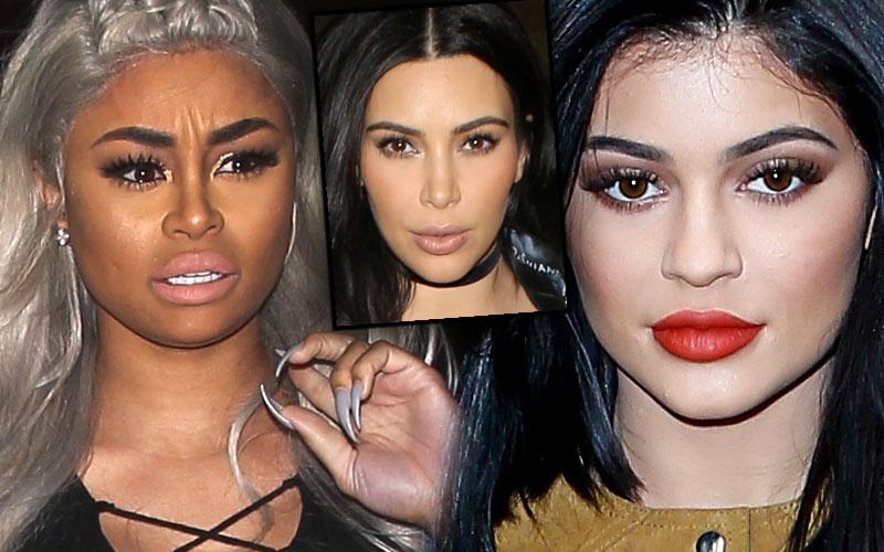 Kylie jenner blac chyna rob kardashian kim kardashian khloe kardashian kourtney kardashian feud 01