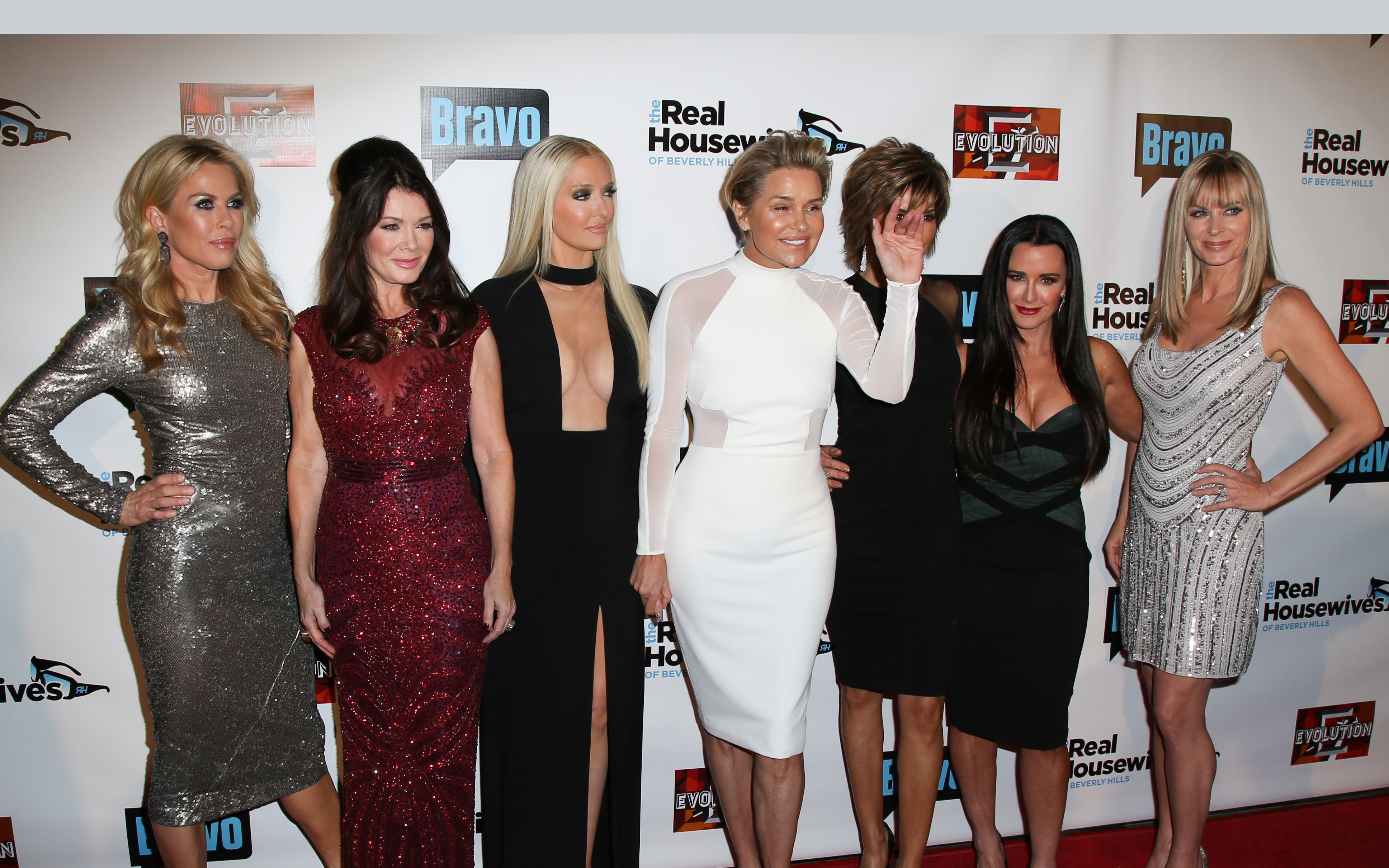 real housewives of beverly hills rhobh reunion taping kim richards yolanda foster
