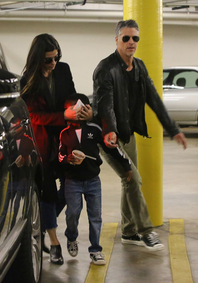 Sandra Bullock & Bryan Randall Dote On Louis During A ...