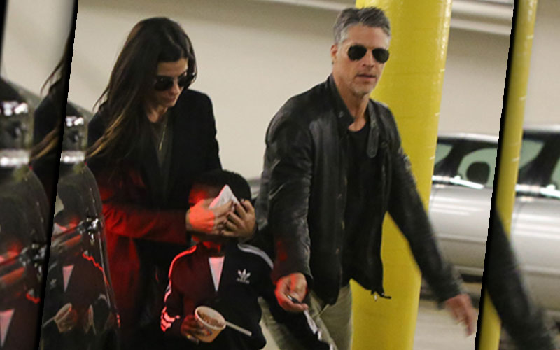 sandra bullock son louis bryan randall photos