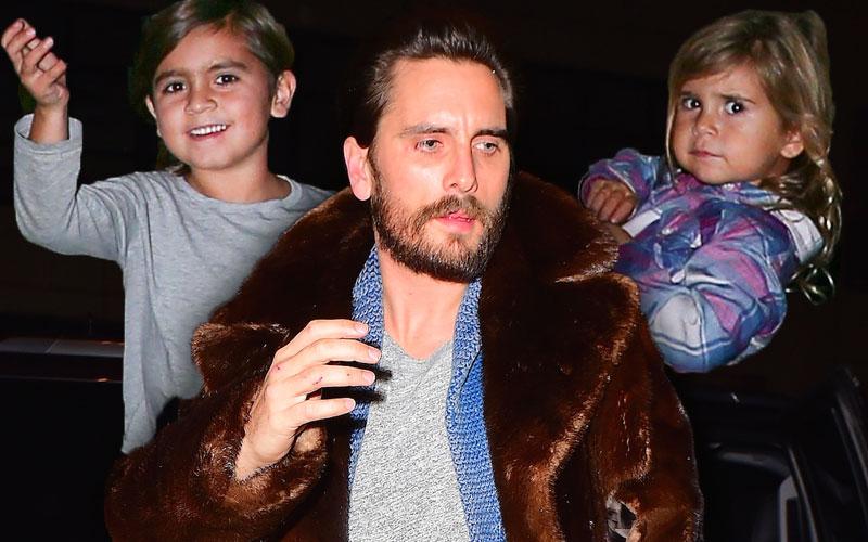 scott disick relapse kourtney kardashian kids penelope mason reign