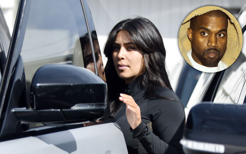 Kim kardashian divorcing kanye west refuses settle debt
