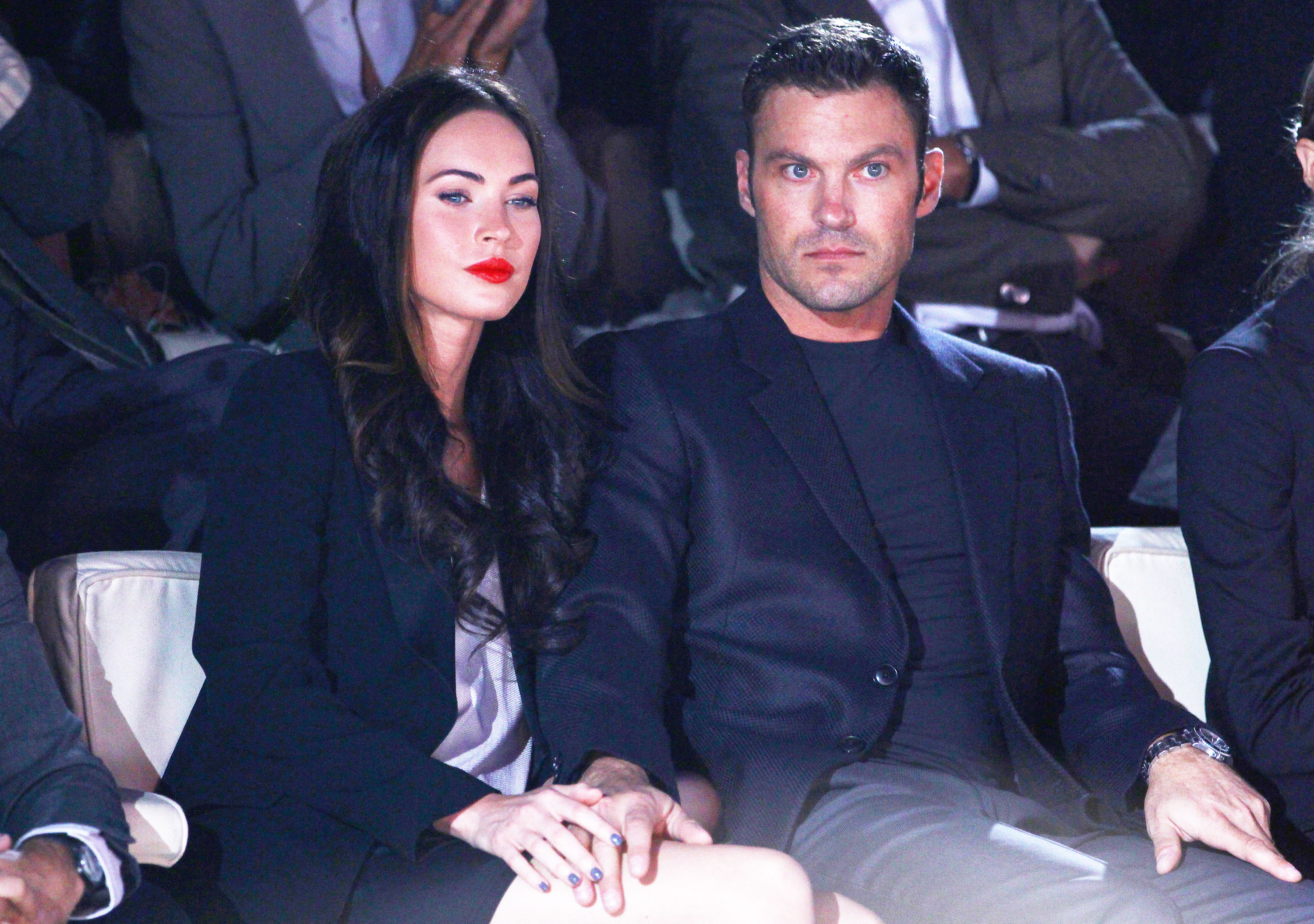 megan fox pregnant brian austin green father