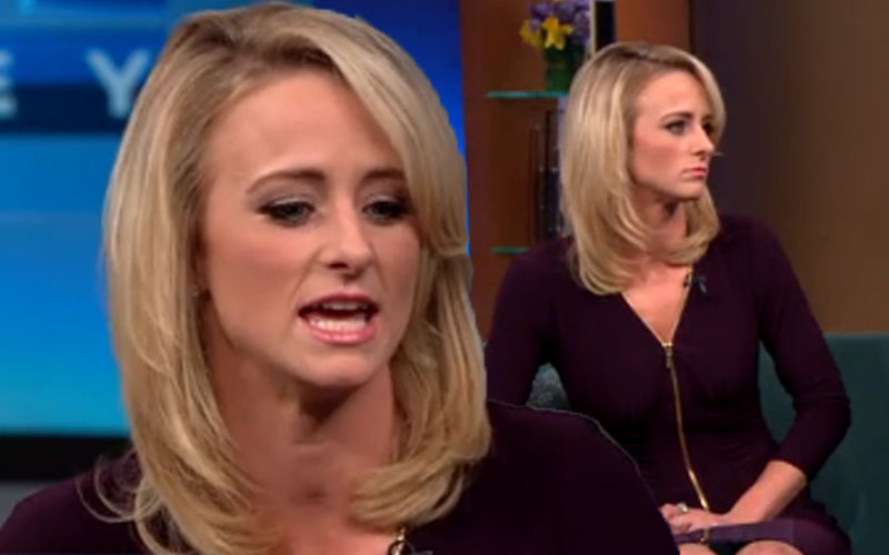 leah messer drug confession rehab steve harvey