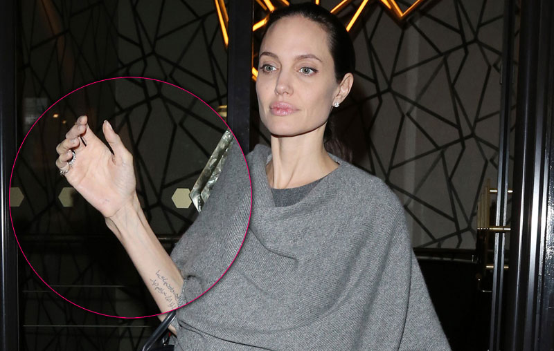Angelina jolie scary skinny arm photos 12