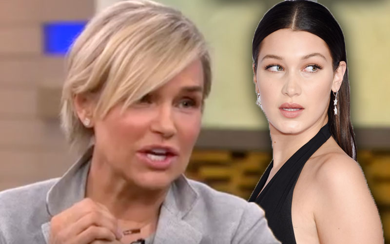bella hadid topless naked instagram apologizes mom
