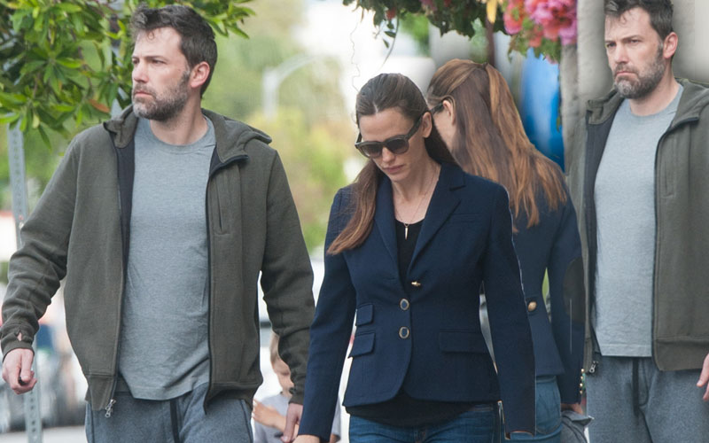 ben affleck jennifer garner divorce fight