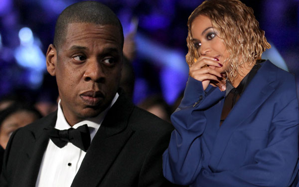 Beyonce Jay Z Cheating Divorce Rumors No Wedding Rings Pics 1