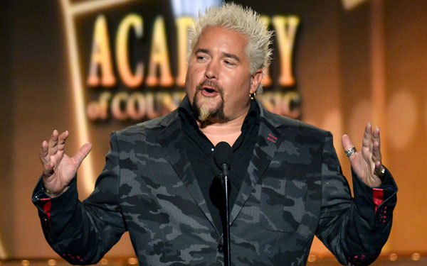 guy fieri restaurant slammed health inspection roaches flies