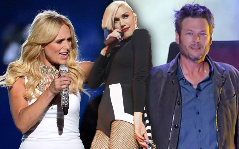 gwen stefani song blake shelton slams miranda lambert acm awards