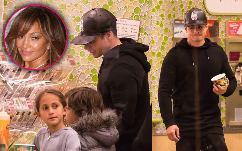 Jennifer lopez boyfriend casper smart takes children frozen yogurt 01