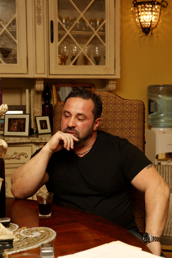 Busted Behind Bars! Joe Giudice Caught Acting 'Completely ...