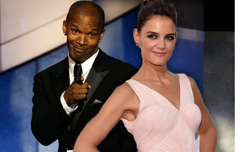 anything for the bride katie holmes jamie foxx 39 s big