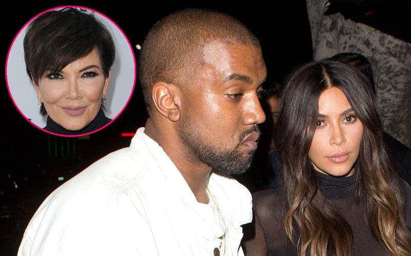 Kim kardashian divorce kris jenner arranged sham marriage kanye west 09