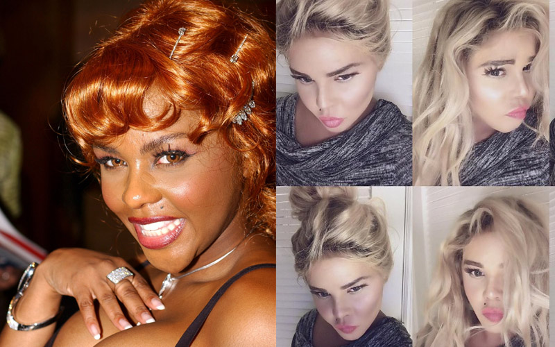 Lil kim plastic surgery tragic self esteem struggles pp