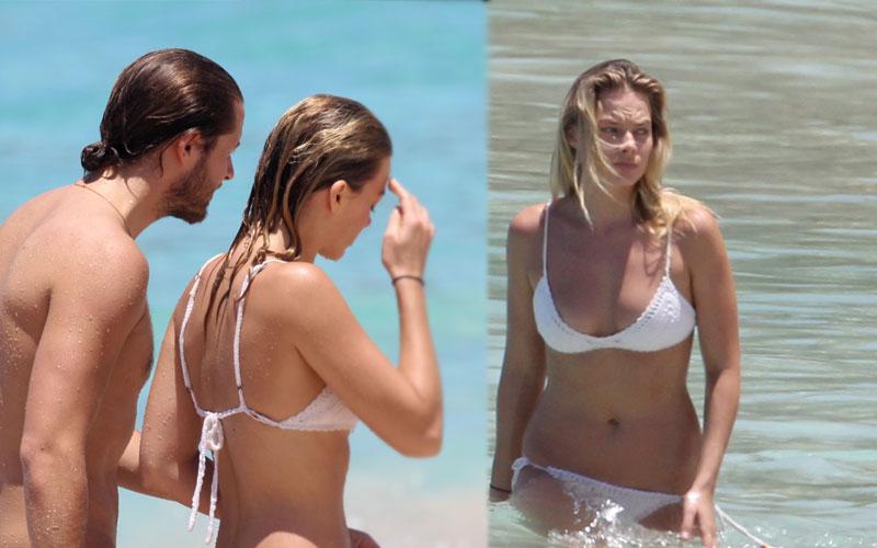 margot robbie topless bathing suit bikini bod boyfriend pics