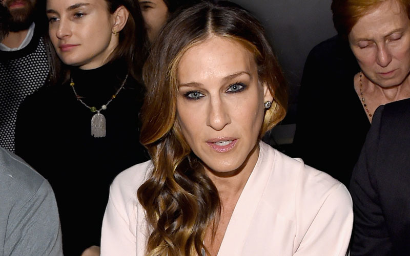 sarah jessica parker garbage trash sink west village