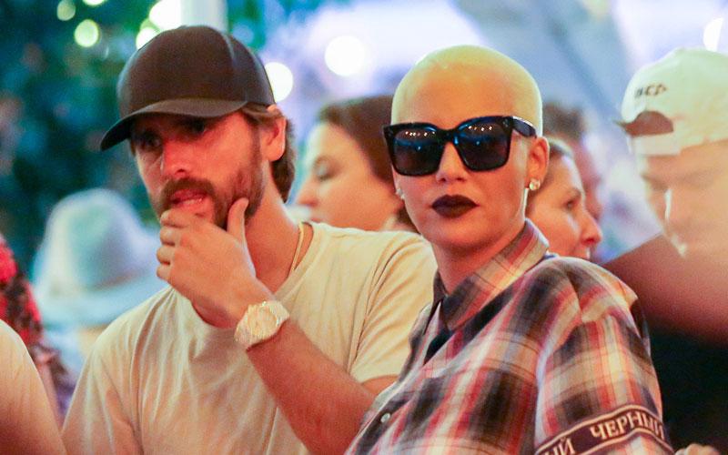 Scott Disick Amber Rose Coachella Kardashian Revenge