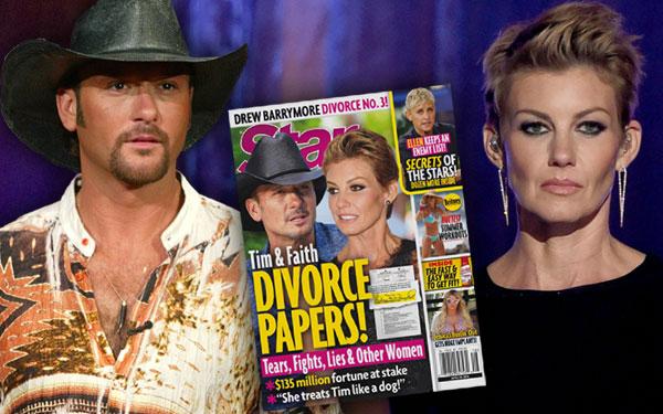 Tim McGraw Faith Hill Divorce Marriage Problems Secrets 5
