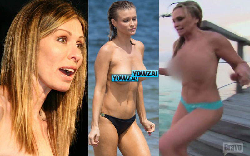Real housewives naked pictures