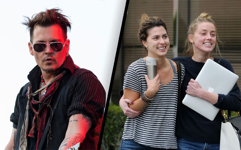 amber heard johnny depp divorce abuse blackmail
