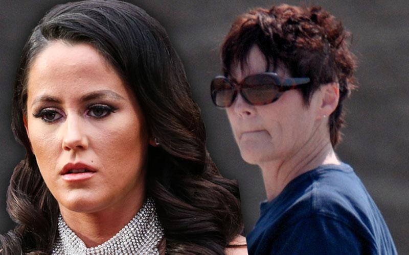 jenelle evans mom barbara evans break up revenge