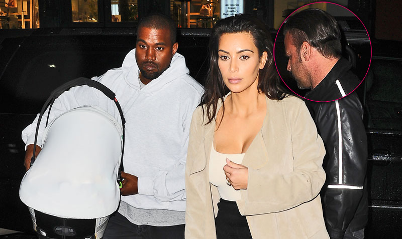 Kanye west kim kardashian divorce jealosy rapper fires bodyguard talking to wife 08