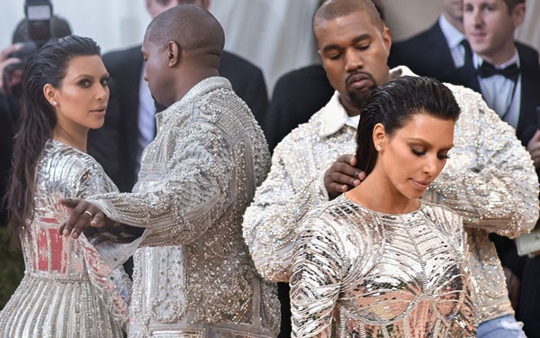 Kim Kardashian Met Gala Kanye West Fashion War Divorce Pics 7
