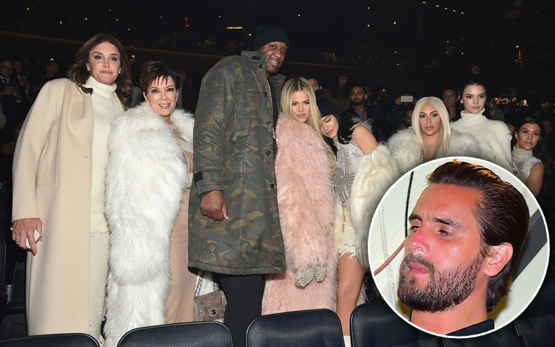 kourtney kardashian scott disick breakup kuwtk preview yeezy season 3 show