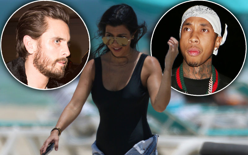 kourtney kardashian scott disick breakup partying tyga kuwtk recap