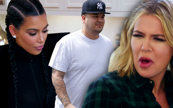 KUWTK Rob Kardashian Blac Chyna Engaged Pregnant Loyal Family Video 1