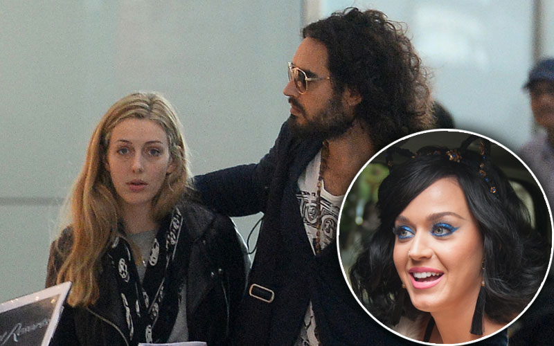 laura gallacher russell brand pregnant five months katy perry ex