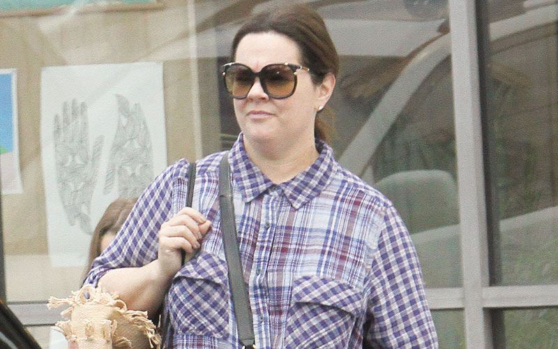 melissa mccarthy weight loss shopping daughter pics