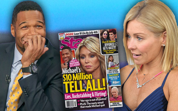 Michael Strahan Kelly Ripa Feud Tell All Book Live Secrets 1