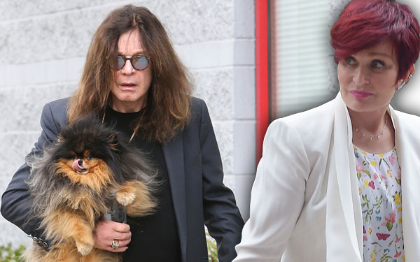 Ozzy Osbourne Sharon Osbourne Breakup Cheating Rumors Found Pics 1