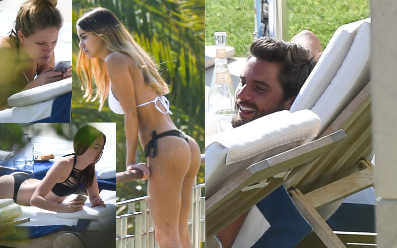 Scott disick parties nearly naked women cannes 01