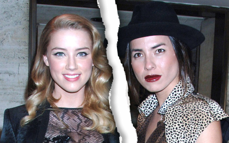 amber heard arrested 2009 domestic violence partner tasya van ree