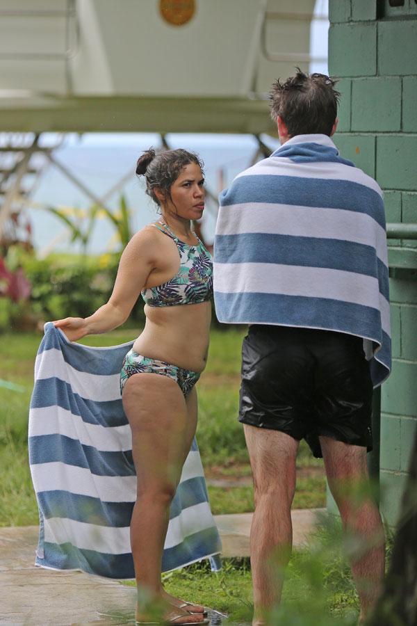 America Ferrera Strips Down To Teeny Tiny Bikini On Vacation In Hawaii ... X Men Days Of Future Past Photos