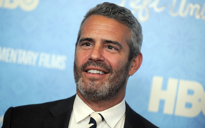 andy cohen self centered plane wwhl