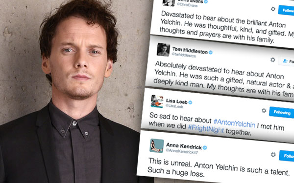 Anton Yelchin Dead Car Accident Updates Celeb Reactions 1