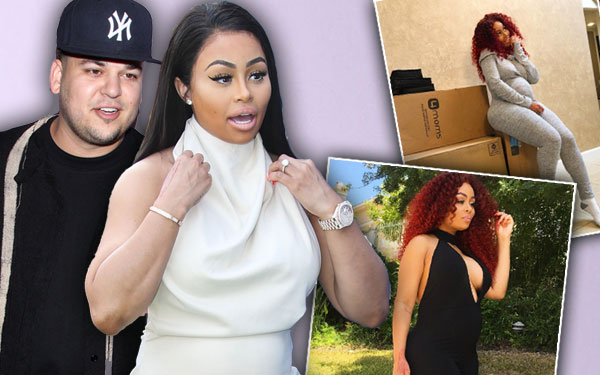 Blac Chyna Pregnant Baby Bump Delivery Room Demands Instagram Pics 1