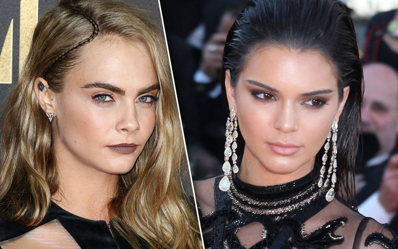 cara delevingne kendall jenner break up split clothing line business deal